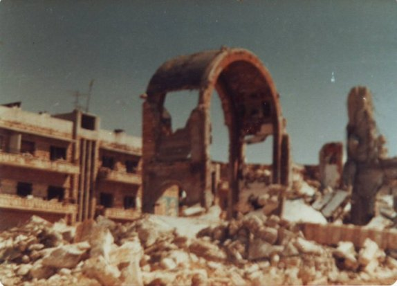 Hama Massacre aftermath 1982.