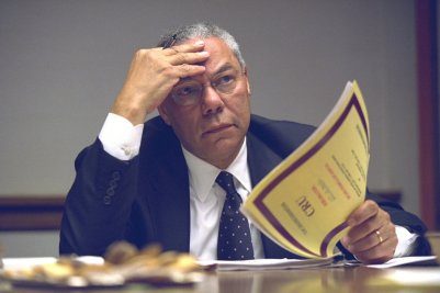 Confounded Colin Powell