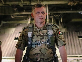 King Abdullah of Jordan.
