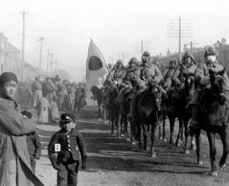The Japanese invade Manchuria, China.