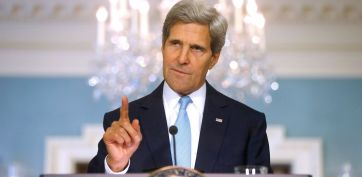 "John Kerry Announces ""Unbelievably Small, Pinprick"" Strikes Against Syria"
