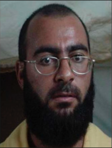 Baghdadi mugshot camp bucca
