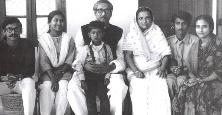 Bangabandhu-wife-family-hasina-rehana-kamal-jamal-russel