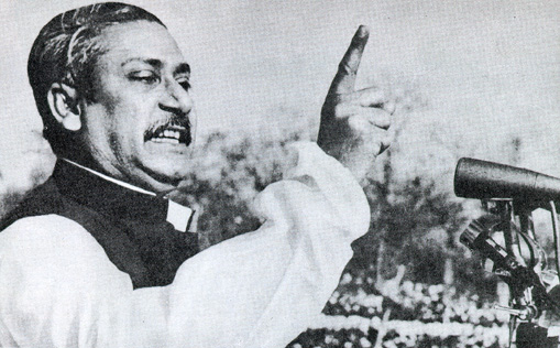 Sheikh Mujib Rahman, the fiery founder of Bangladesh, who yearned for federalism.
