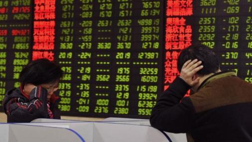 China financial markets in steep decline