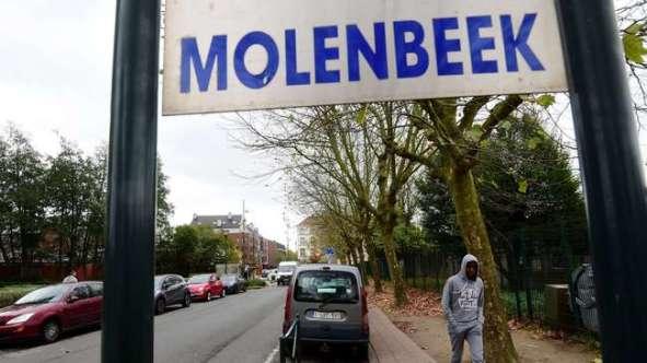 Muslim neighborhood in Brussels