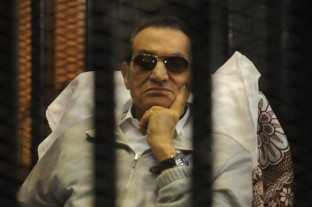 Former U.S.-ally Egyptian strongman, Hosni Mubarak in prison after his deposal from office during the Egyptian Revolution in 2011. While not a good leader, he did serve U.S. interests.