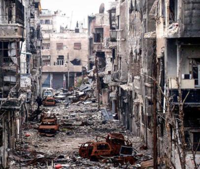 Hama Massacre aftermath 2012