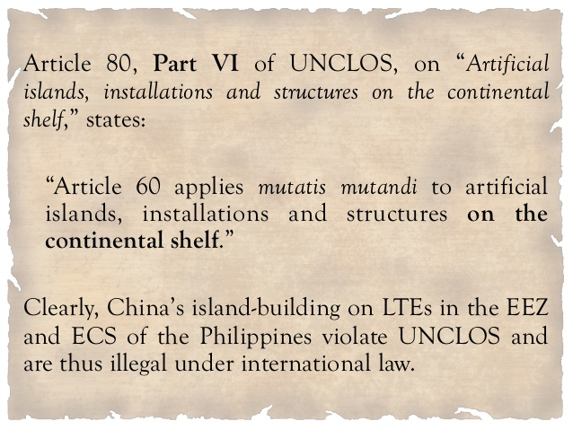 UNCLOS violation