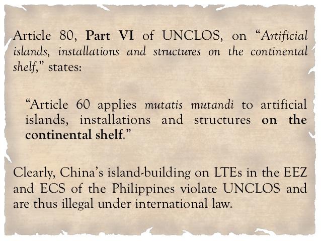 UNCLOS violation