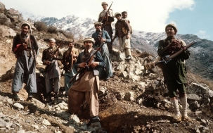 Mujahideen fighters in Afghanistan.