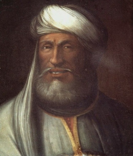 Caliph Mu'awiyah, founder of the Umayyad dynasty and rival to Ali.