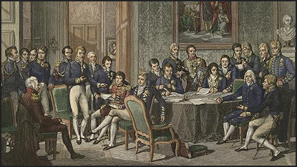 a report on the congress of vienna which ended the napoleonic wars The napoleonic wars include the series of military campaigns that began in 1803  with the collapse of the peace of amiens and ended with napoleon's second   the congress of vienna addressed territorial issues that had been tabled   wellington's political generalship at waterloo, paper presented at.
