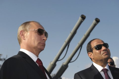 New Egyptian President Sisi buddying up with Russian President Vladimir Putin. Such an entente is automatically bad for U.S. interests.