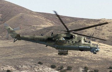 The Soviet Mi-24 Hind attack helicopter was ubiquitous in the Soviet-Afghan War.