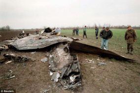 Even more wreckage.