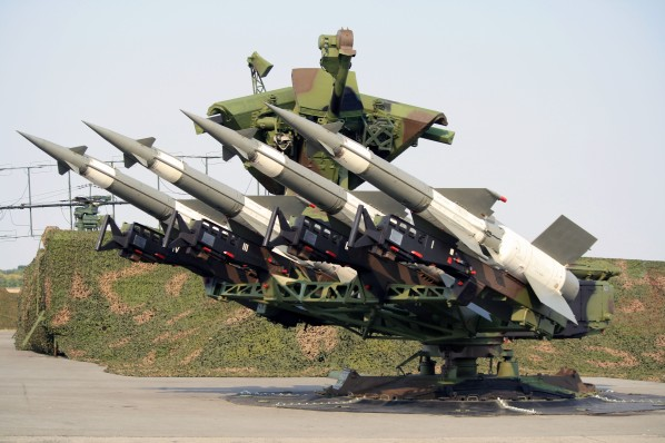 It is believed that this antiaircraft system, the S-125 Neva System, downed the F-117 in 1999.