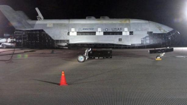The USAF's X-37B Spaceplane.