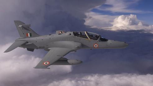Hawk Training jet.