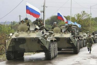 Russian forces are gobbling up Eastern Europe.