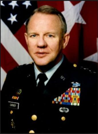 U.S. Army Jay Garner in 1994.
