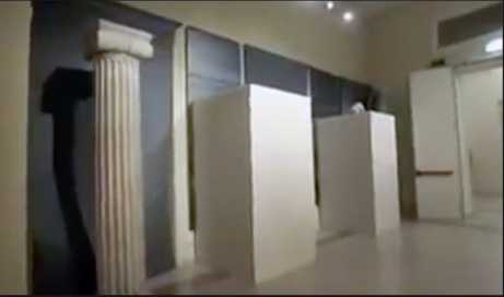 """Italy covered up its ancient nude statues to """"respect"""" Iranian sensitivities."""